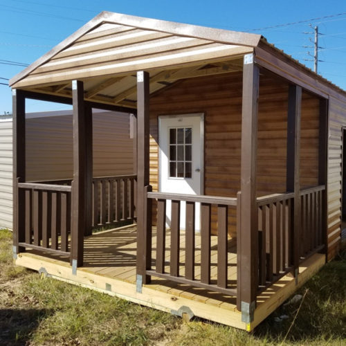 Porch Model Sheds